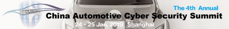 4th Annual China Automotive Cyber Security Summit 2019