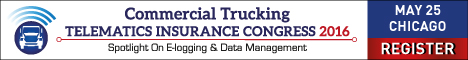 Commercial Trucking Telematics Insurance Congress 2016